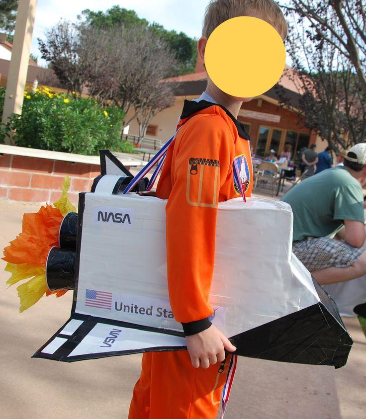 Halloween DIY costume Space Shuttle | Creative DIY ...