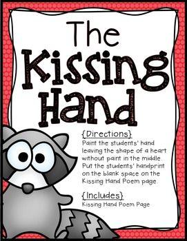 Kissing Hand Craft FREEBIE