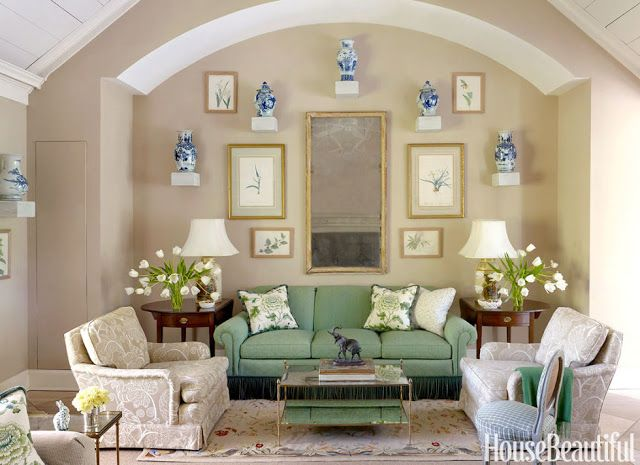a green sofa is not everyones cup of tea but it can make a living room look bold and stylish here is some living room ideas that will convince you