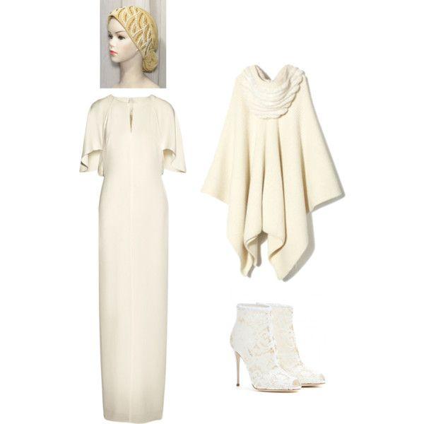 alternative bride. winter cape by anitatxu on Polyvore featuring moda, 3.1 Phillip Lim, Bally and Dolce&Gabbana