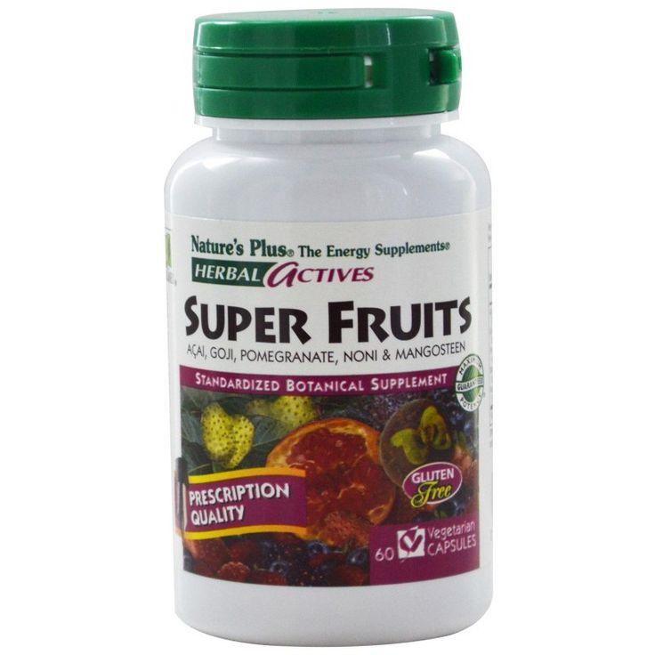Buy Nature's Plus, Herbals Actives, Super Fruits, 60 VCaps - Energy Supplement for sale in Cheapest Online supplements shop megavitamins in Gold Coast, Brisbane & across Australia.