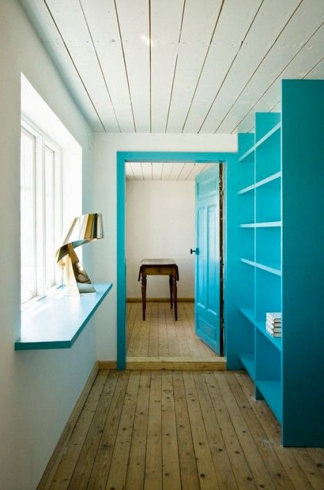 Swedish Country Design | swedish country home hall Cheery Swedish Summer Time Cottage By LASC ...