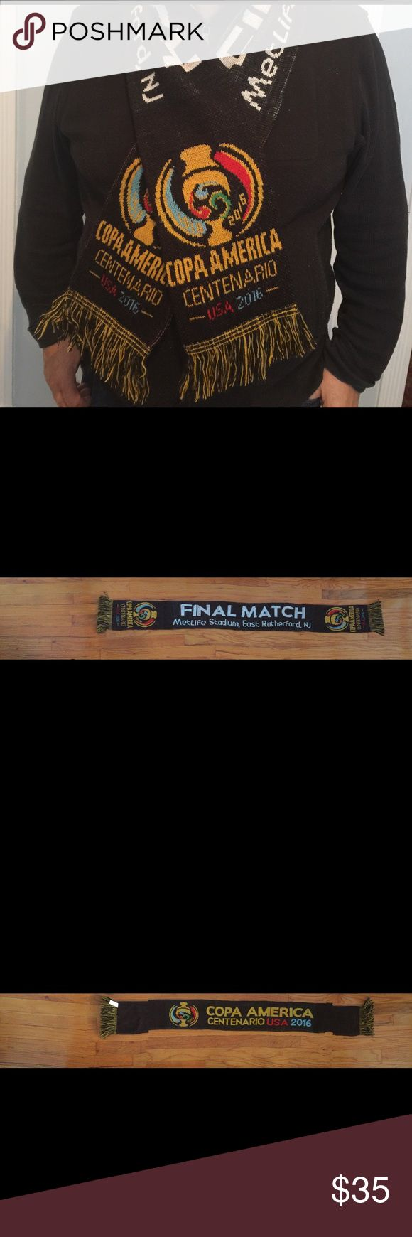 Copa América USA 2016 Final Match scarf Final match scarf giveaway. Argentina vs Chile Accessories Scarves & Wraps