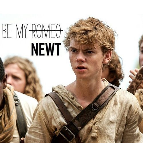 Newt - the-maze-runner Fan Art