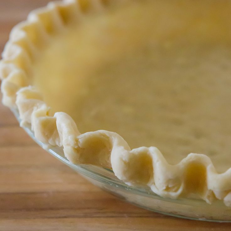 The BEST pie crust recipe you'll ever find! It's easy to work with, tender and flaky. You won't believe the secret ingredient!