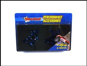Rear Bulkheads, Aluminum: EMX, TMX 2.5 by Traxxas. $57.53. Shipping weight: 1 pound. TRAXXAS. Be sure to visit us again. Makes a great gift!. Traxxas T-Maxx Rear Blue Machined 6061 T-1 Aluminum Bulkhead - 4929X. Traxxas Aluminum Rear Bulkheads, Left and Right Blue for T-MAXX and T-MAXX TRA4929XIncludes:1 Rear Left Bulkhead Aluminum1 Rear Right Bulkhead AluminumManuf. Notes:MACHINED-ALUMINUM BULKHEADS: Traxxas machined-aluminum bulkheads increase the strength of the T-Maxx...