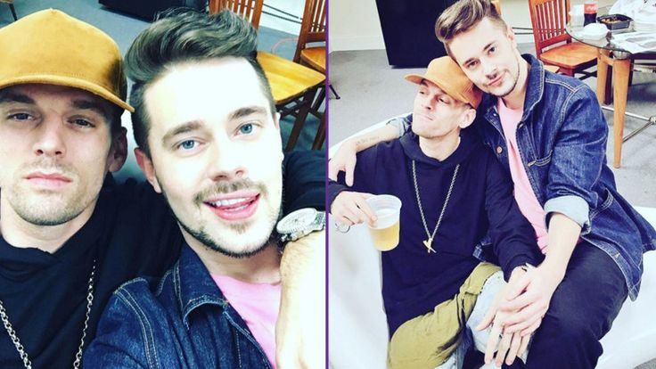 Aaron Carter Found His Candy In Chris Crocker