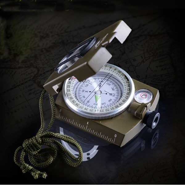 Naturehike Pocket Compass for Sale Best Waterproof Multifunctional Lens Digital Geological Outdoor Camping Military Compass