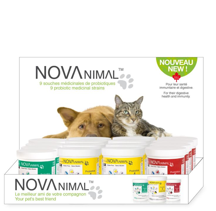 Formulated by a veterinarian and a microbiologist specialized in animal health - Conçu par un vétérinaire et un microbiologiste spécialisé en santé animale.