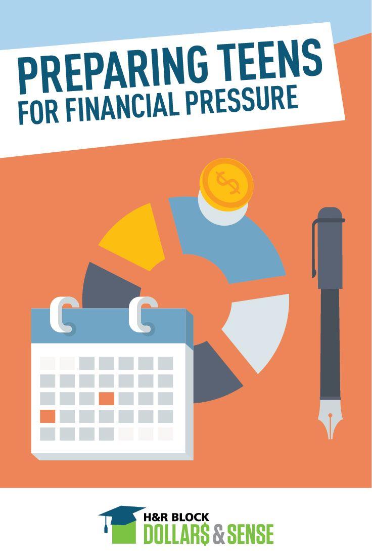 preparing teens for financial pressure  money  education