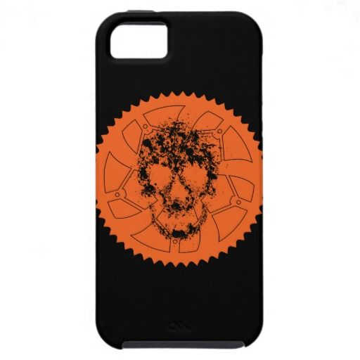 Chainring skull iPhone 5 cases
