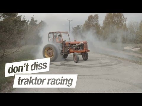 How to build a drift missile on a budget and still get all the looks: Introducing the #Volvo Traktor. Warning: Seriously funny. #GetTheInspection #Sweden #TractorRacing #CrazyBuilds #VolvoLove