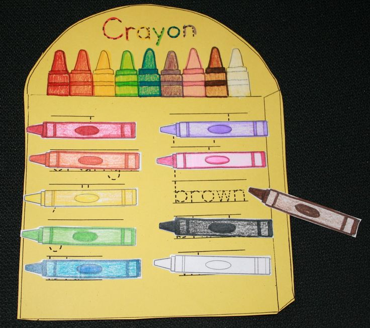 Color & Number Word Activities