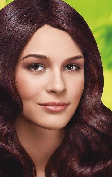 Nevacolor 2017 Saç Renk Kartelası - Nevacolor akaju kızıl kahve saç rengi