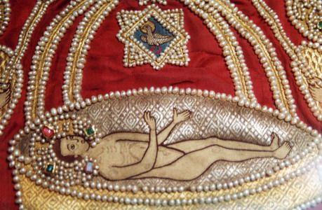 золотное шитье, церковная вышивка, вышивка золотом, лицевое шитье, пелены, облачения