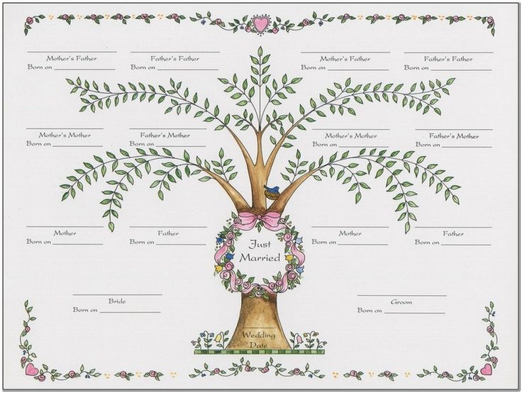 family tree templates for microsoft word