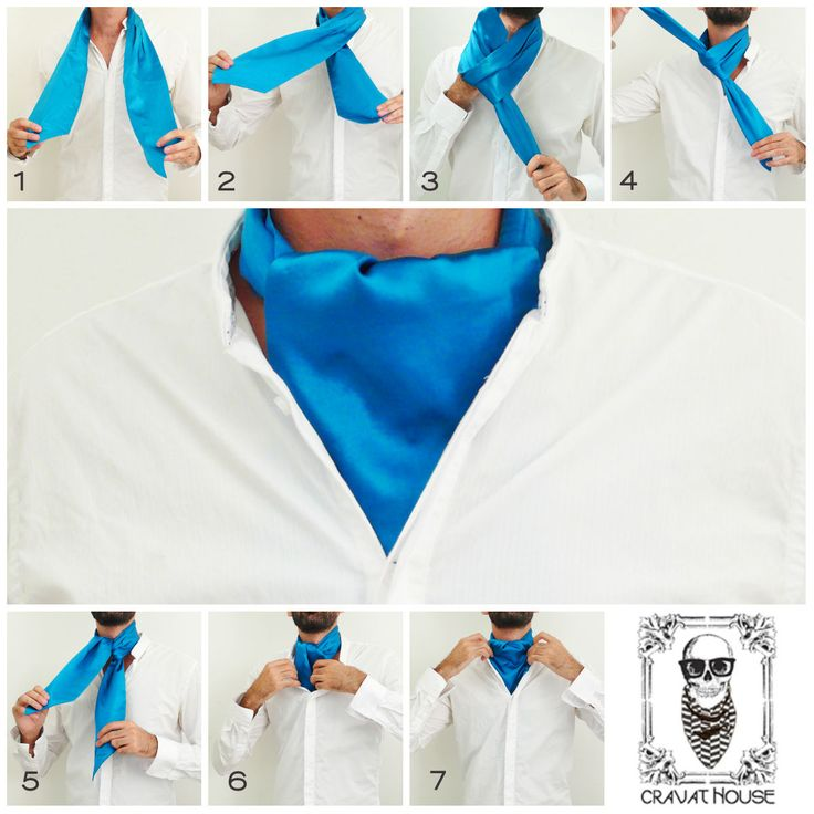 ∮HOW TO TIE A CRAVAT∮ Follow the steps to learn how to tie a day cravat. #howtotieacravat #cravats #ascots #mensfashion #mensstyle #cravatyourself #giftsforhim
