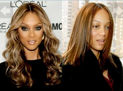 with no makeup! Tyra Banks I will never feel bad about wearing make up again