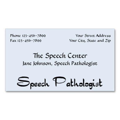 Best 100 speech pathologist business cards images on pinterest speech pathologist therapist business card colourmoves