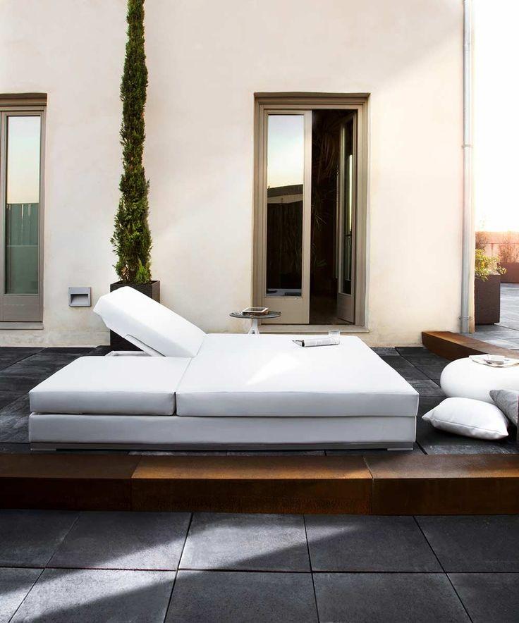 tumbona doble jardn agena tumbona doble para interior o exterior diseo minimalista y excelente calidad