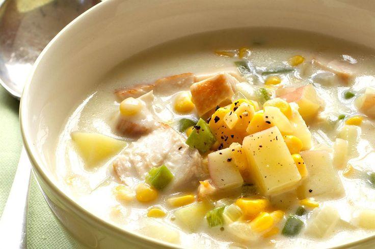 Chicken & Corn Chowder soup