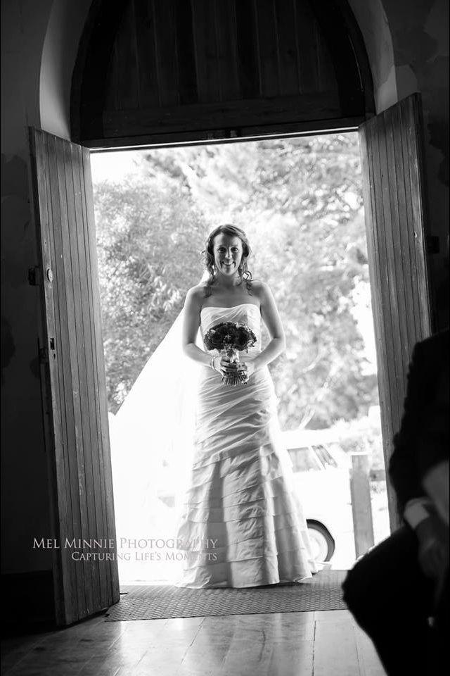 #bride #weddingdress #veil #wedding #blackandwhite #littlechapel