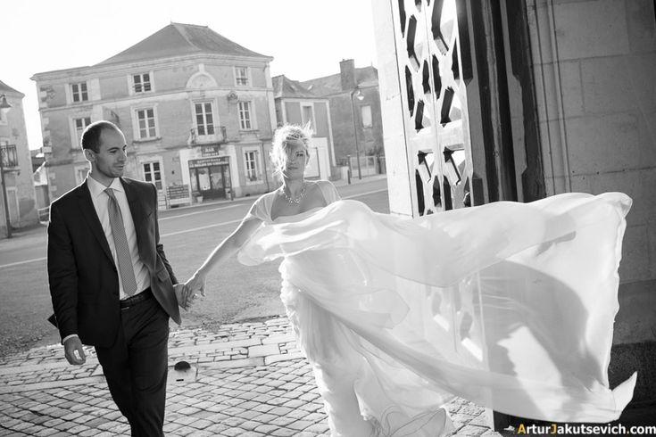 Wedding in France — elopement in Chateau de Challain www.arturjakutsevich.com