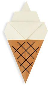 Origami Soft Serve Cone