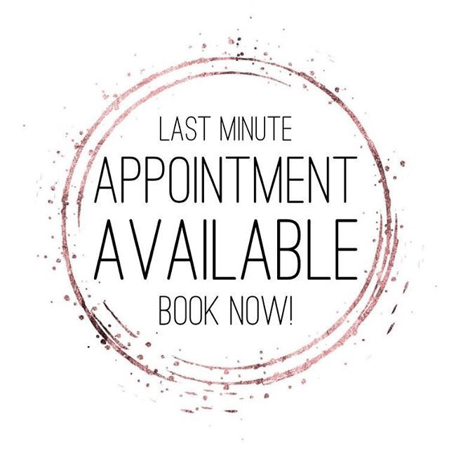 Massage appointment available Monday 18th November at 6pm