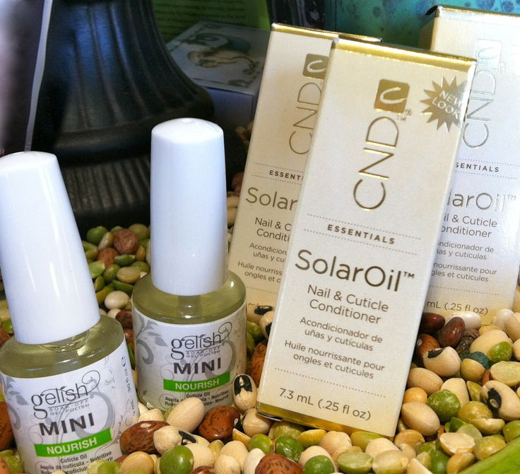 Tip Tuesday, courtesy of Lola - Keep cuticle oil in your purse, by your bedside, in your glove compartment -- any where handy and ready for nourishing those nails! #gelish // #cndsolaroil
