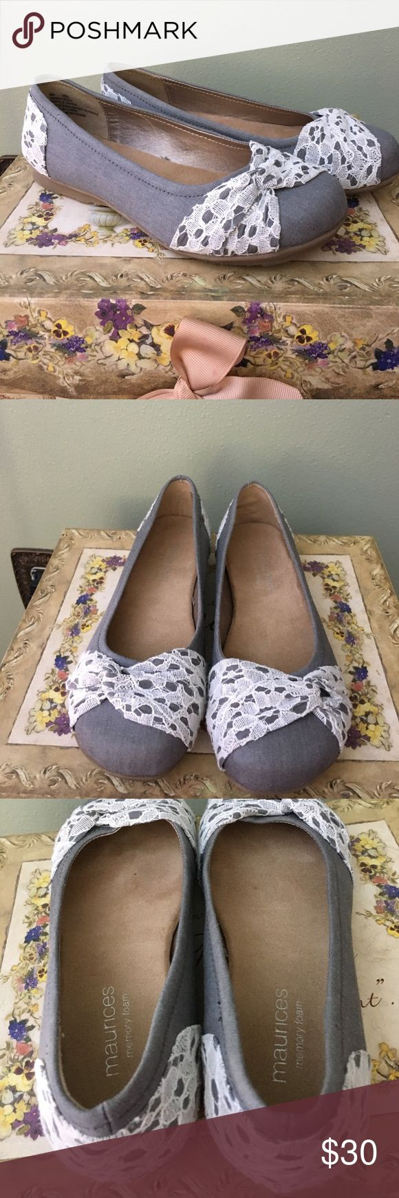 ❤️Like new Maurice's shoes❤️ Worn once!! Has memory foam, comfortable😍 Maurices Shoes