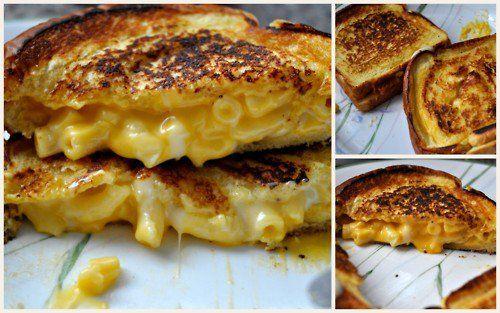 Grilled Mac n' Cheese Sandwich.