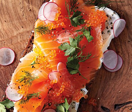 Smoked Salmon Smørrebrød