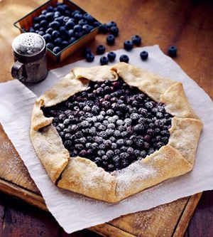 Finnish Blueberry pie - This berry pie proves that there's beauty in simplicity. The piecrust is wrapped around a three-ingredient filling that includes fine dry breadcrumbs. You don't even need a pie plate to make this juicy treat.