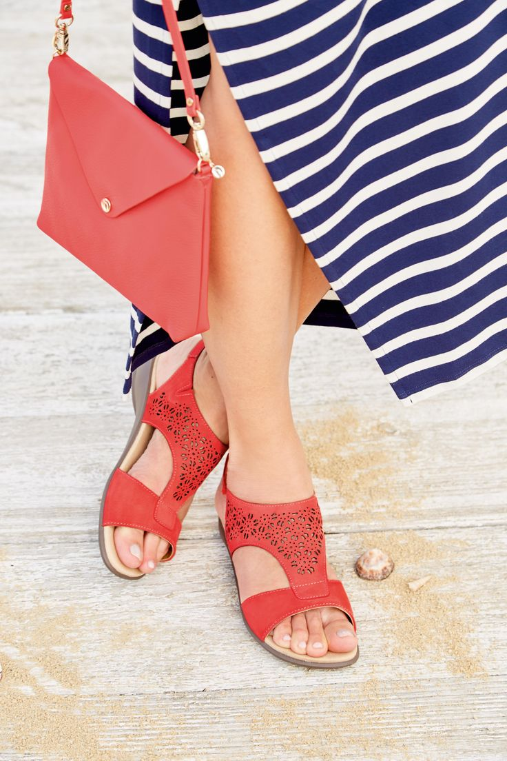 The Shine sandals and Mille handbag are a match made in heaven.