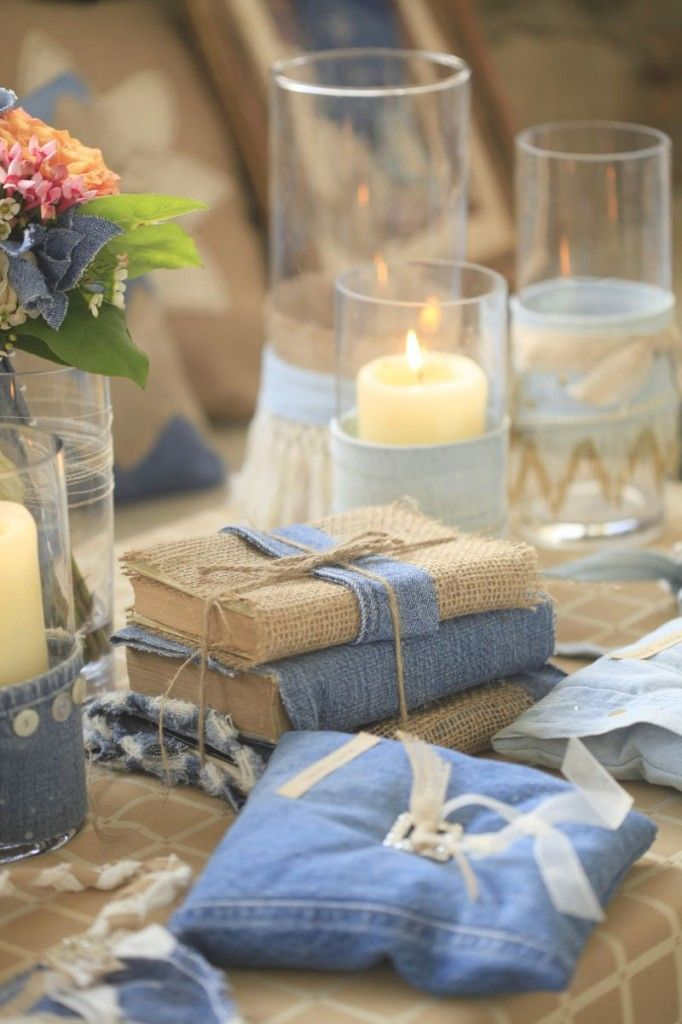 Rustic Denim Wedding Inspiration from Cedarwood Weddings
