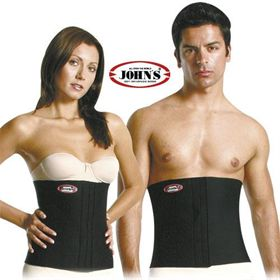 SLIMMER BELT Neoprene JOHN'S® Slims and trims stomach and waist. Height: 30cm.