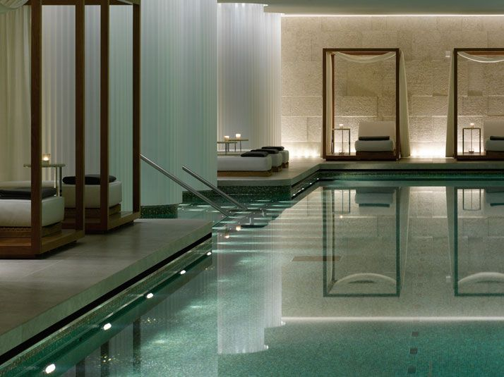 1832 best indoor swimming pools images on pinterest for Indoor pool design uk