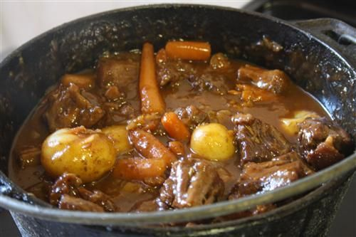 This Namibian Potjiekos recipe is great for any social occasion. Everyone helps out with the preparation and then you leave it to bubble away...