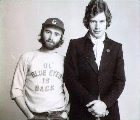 Phil Collins & Bill Bruford, 1976