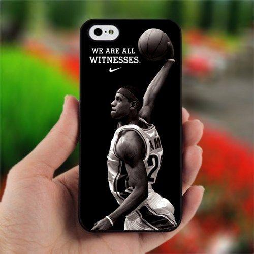nike basketball Lebron James - Design for iPhone 5 Black Case | printcustom - Accessories on ArtFire