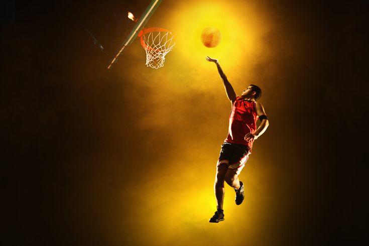 Dünyada bir ilk LED Basketbol Sahası Muhteşem!