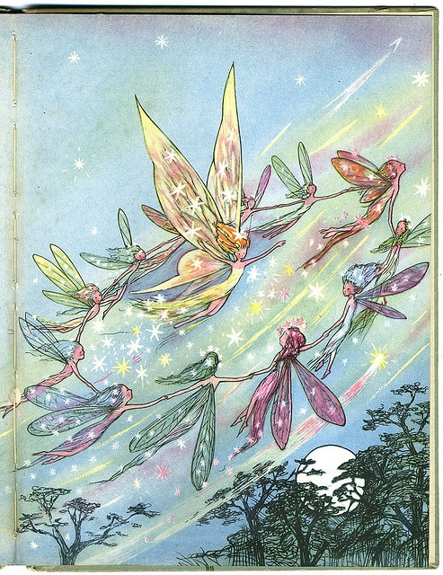 "Barbara Mary Campbell (CAM) ""The Buttercup Fairy"" 1945: Mary Campbell, Barbara Mary, Fairies 1945, Photo Shared, Angel Fairies Whimsy, Campbell Cam, 1945 Rare, Buttercup Fairies, Art Multi"
