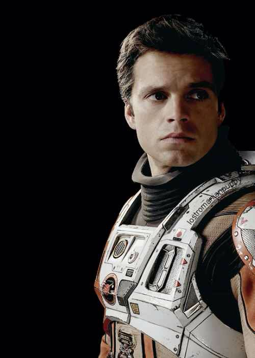 Sebastian Stan as Dr. Chris Beck (The Martian) - He could be in Mass Effect if they ever made a movie for that
