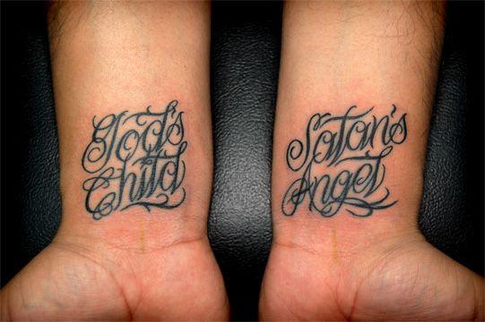 Wrist tattoo cover up small script wrist tattoo god 39 s for Child of god tattoo