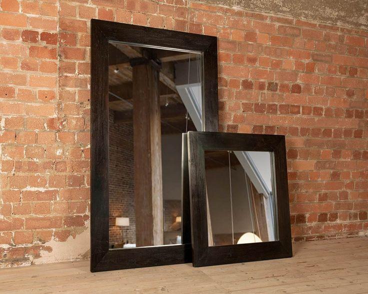 Henry Dark Teak Mirror