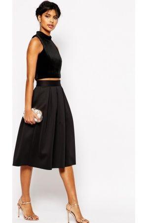 Halflange-rokken-ASOS-Midi-Skirt-in-Scuba.jpg 300×450 pixels