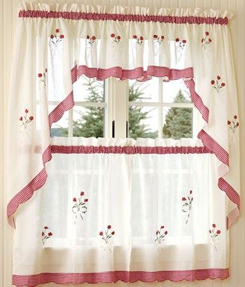 Country Curtains For the Kitchen Curtains can be seen in every part of the house. It has a bedroom, living room, kitchen, can be seen in the...