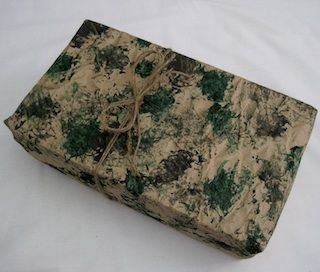Make your own camo-wrapping paper