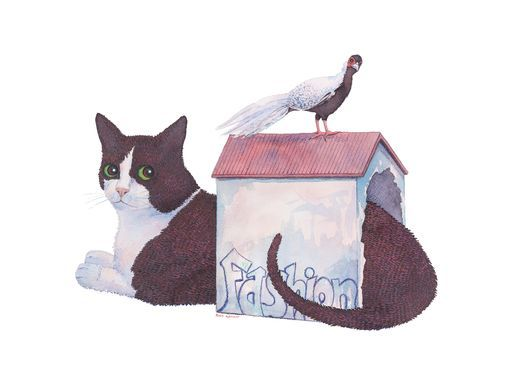 "Check out my art piece ""Gato Casa - Plumifero"" on crated.com"